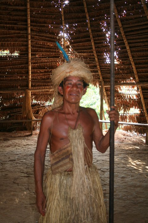 The Chief of the Yahuas.